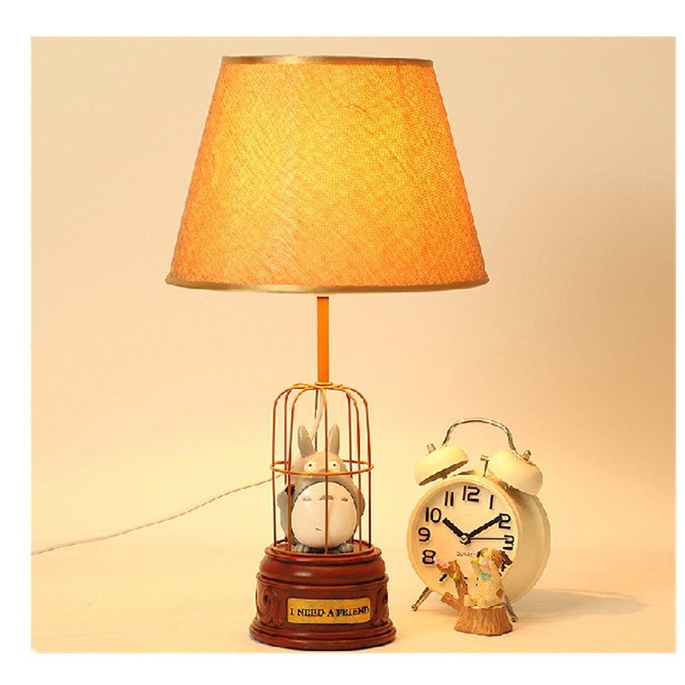 欣兰雅舍 创意宜家儿童龙猫小台灯 简约可爱卡通卧室