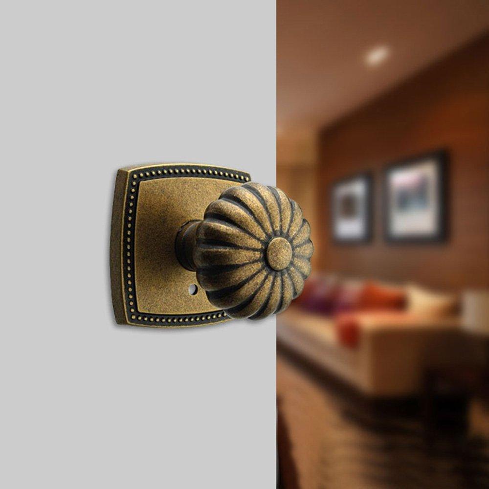 门门锁全铜欧式仿古铜复古电视背景墙隐藏暗门单面锁