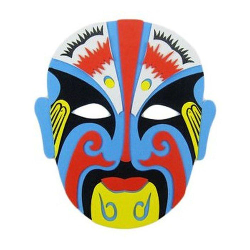eva面具 戏曲京剧脸谱 搞怪装扮创意个性diy儿童表演面具手工制作图片