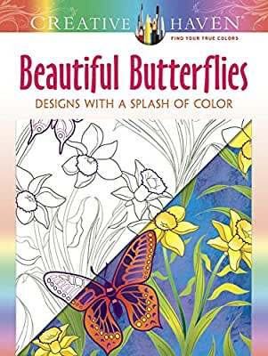 Creative Haven Beautiful Butterflies: Designs with a Splash of Color.pdf