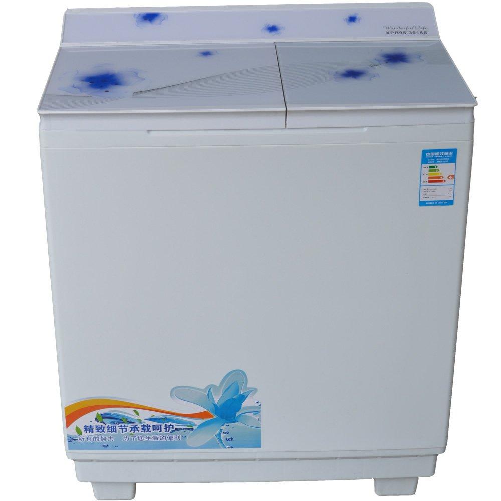 5kg波轮式半自动双缸洗衣机