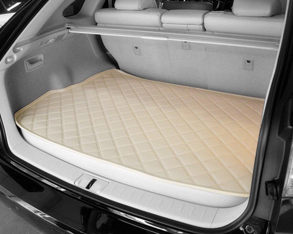 卡盟 宝马z4后备箱垫子防滑高档皮革专车专用后舱尾箱