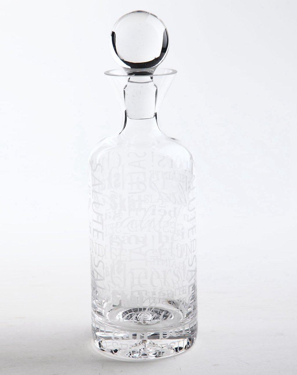 玻璃红酒摆台收纳瓶