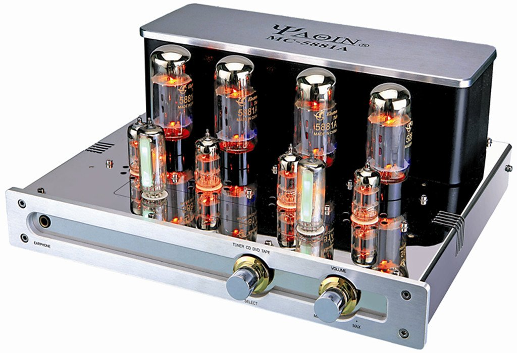 雅琴胆机 mc-5881a 合拼式耳机功放