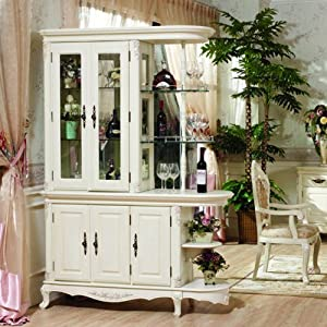 bmj 邦美居 bmj 欧式实木家具隔断柜间厅柜玄关酒柜隔
