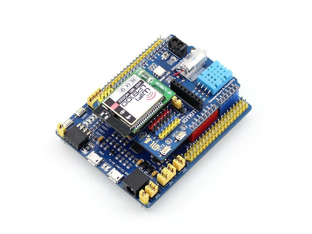 云控制 stm32开发板 兼容arduino mbed lpb100 wifi智能家居