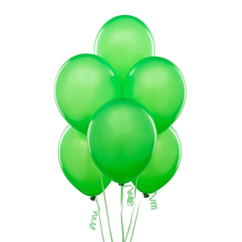 孩派 生日聚会用品/生日派对用品/生日派对装饰/单色气球/绿色6个