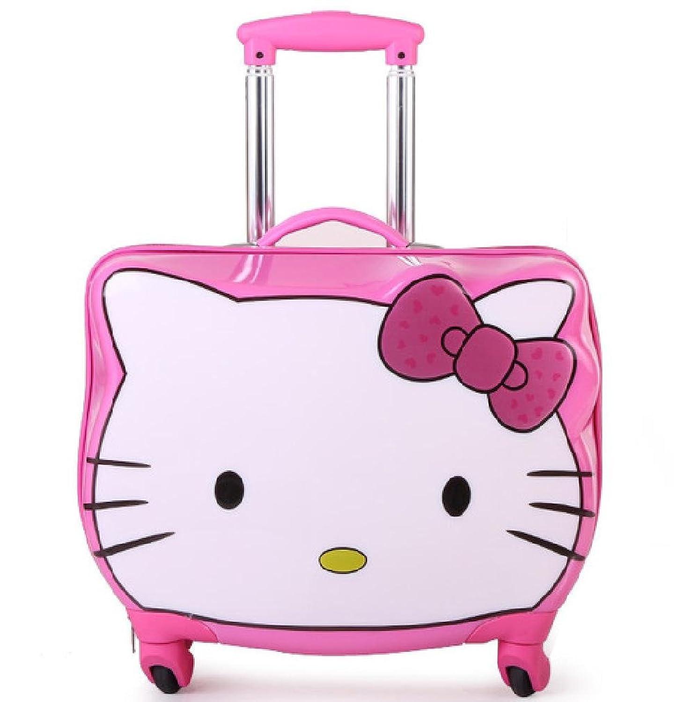 左岸pc儿童可爱小猫咪卡通猫头背包 书包60 (粉红) (11寸)