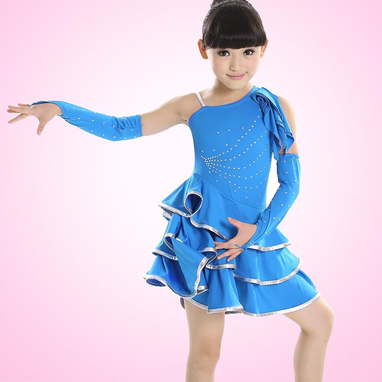 儿童拉丁舞服装礼服演出服