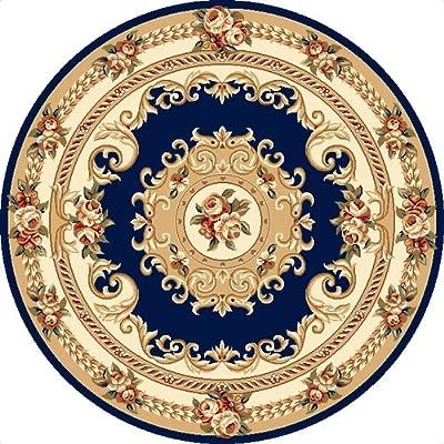欧式圆形地毯 客厅书房卧室地垫