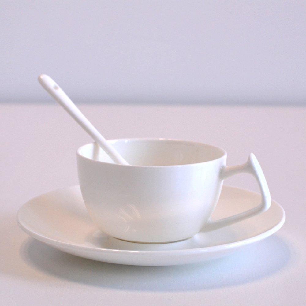 吉祥家 现代中式茶杯[云出岫] 咖啡杯套装 骨瓷创意杯子 陶瓷杯
