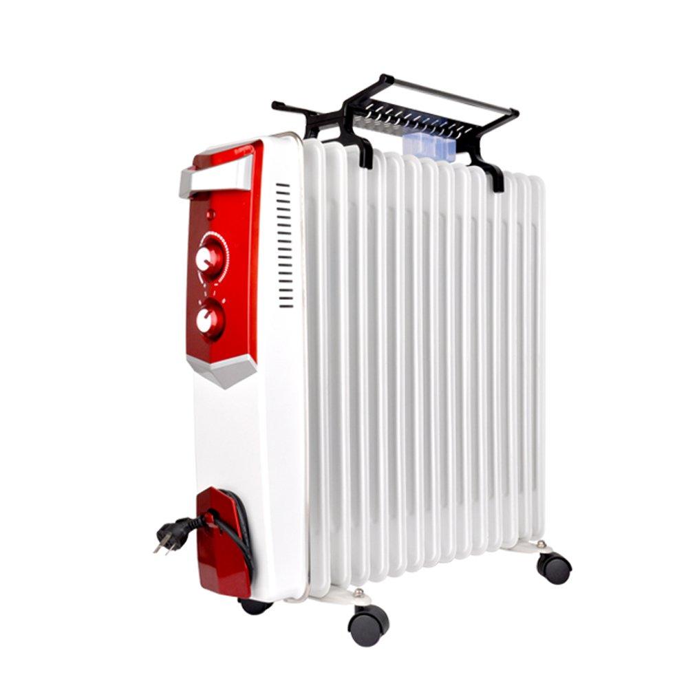 取暖器 加热器 15片大功率电暖气 机械式 15片油汀