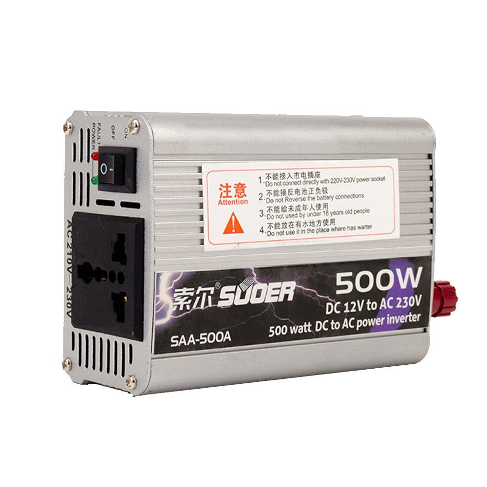 索尔saa-500w 逆变器 12v转220v 厂家直销 车载家用电源逆变器