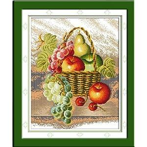 彩水果画教程图解