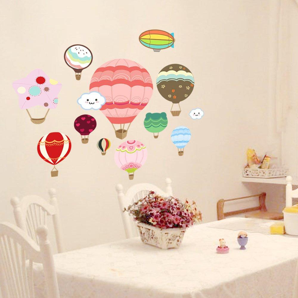 餐厅卧室儿童房幼儿园教师布置贴画背景
