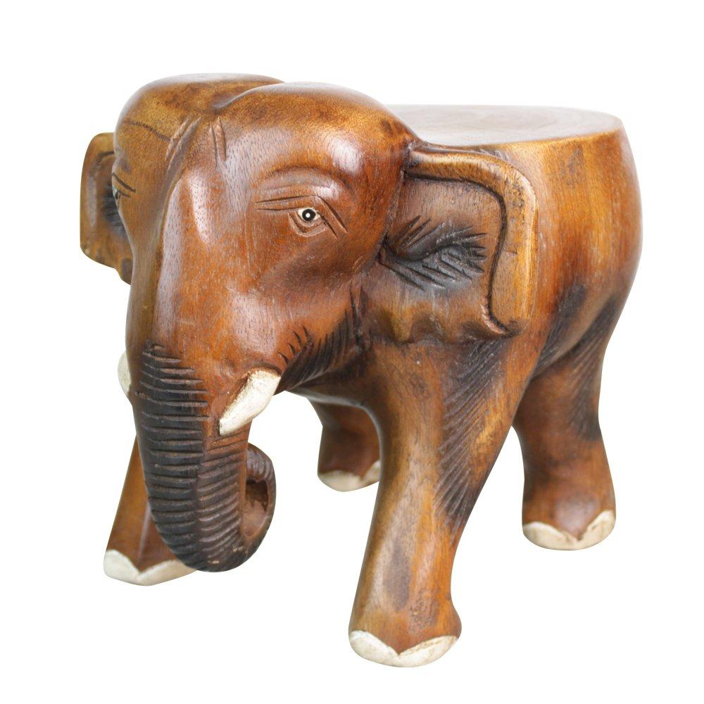 泰国工艺品 木雕大象