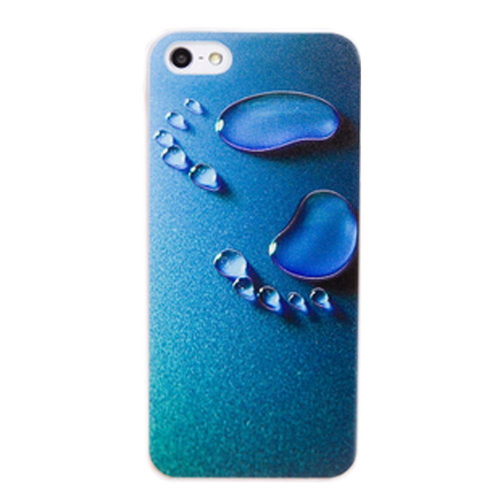 iphone蓝色水珠壁纸