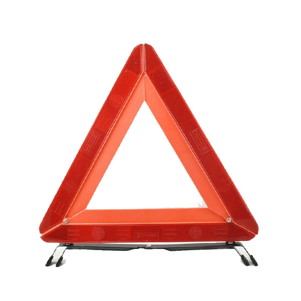 卡美特 汽车三角架 年检必备强反光 三角警示架 警示牌 警告架