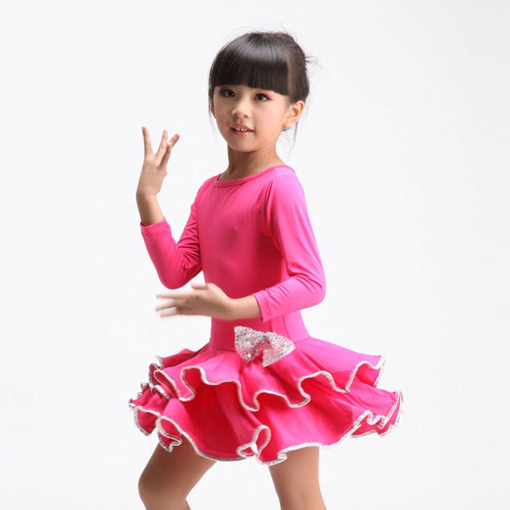 女童拉丁练功舞蹈