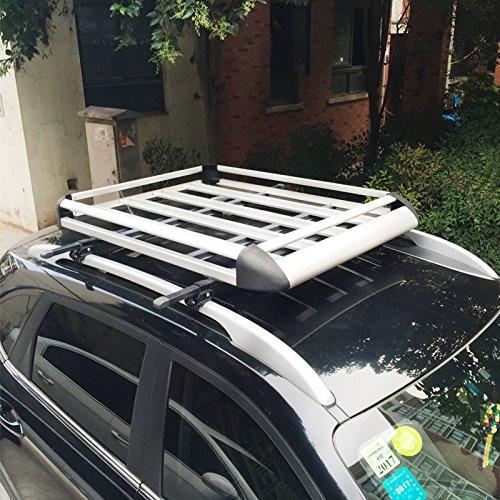 豫华铭扬 汽车改装通用铝合金行李框 越野车旅行架行李架条 通用车顶