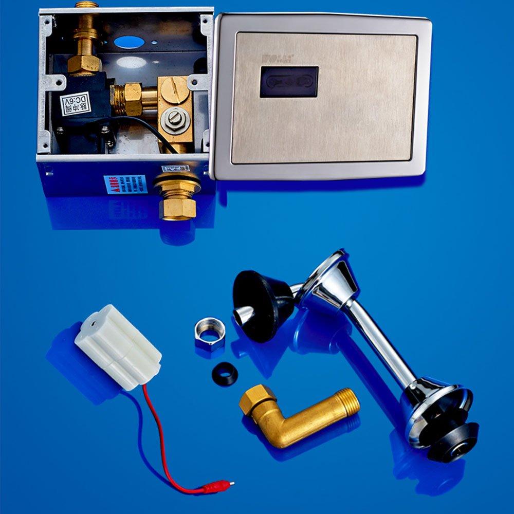 全自动感应小便器 小便斗小便池 冲水器小便冲水阀 全自动直流感应