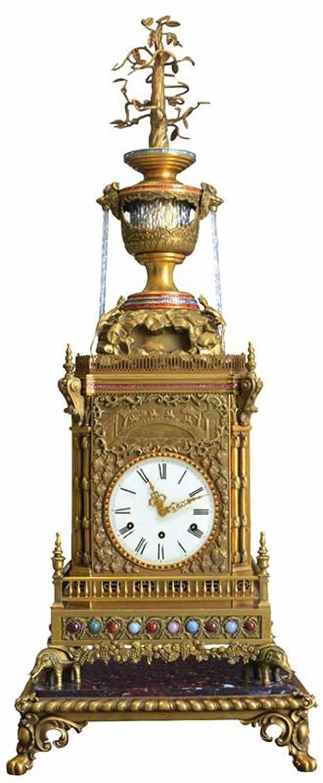 欧式落地钟表图片