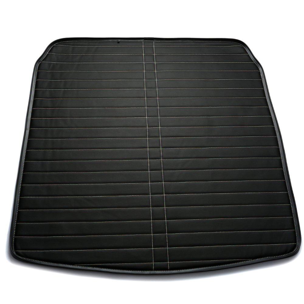 灏途 丰田专车专用皮革后备箱垫 高档直线纹汽车尾箱垫 olb-210 黑色