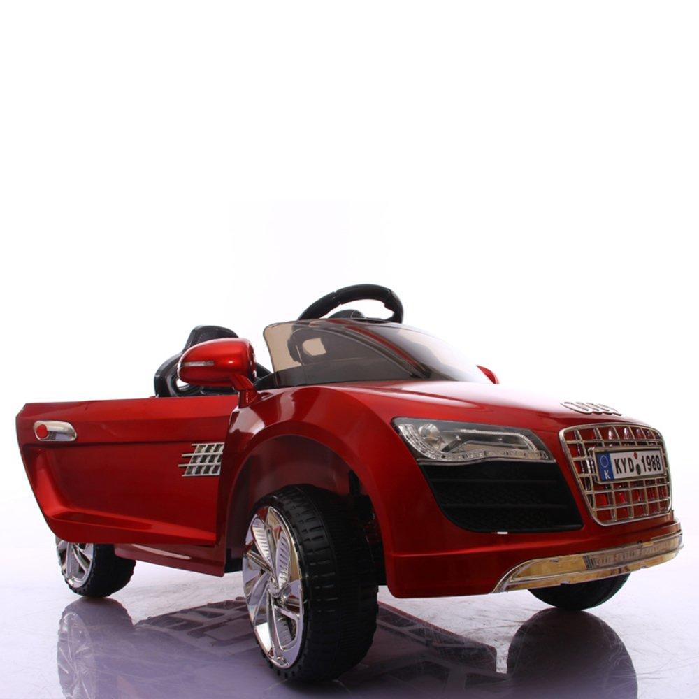 奥迪r8儿童电动车四轮汽车遥控车豪华超大款