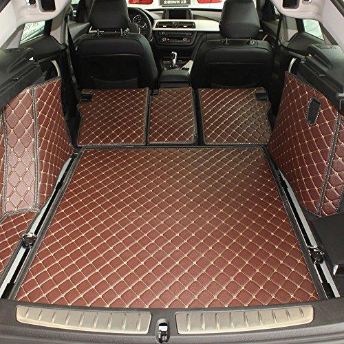 恒骥 丰田普拉多五座 后备箱垫和靠背垫 尾箱垫 后仓垫 专车专用 环保