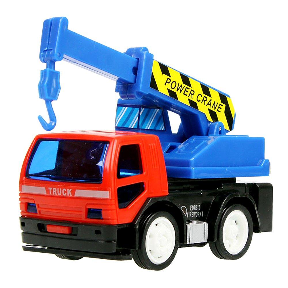 环奇 环奇正品儿童玩具汽车 惯性工程车系列 小汽车挖土机玩具车套装
