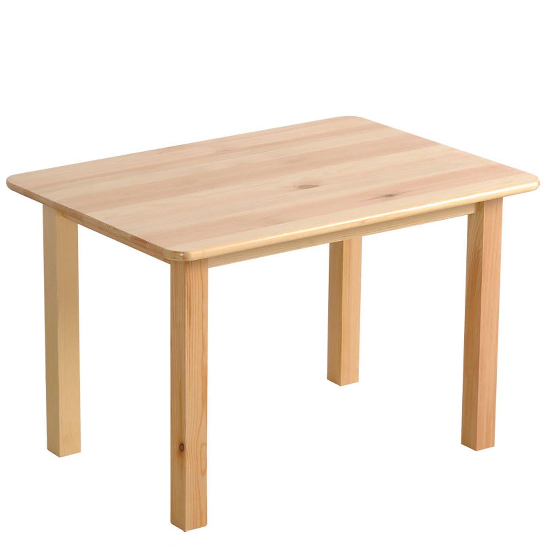 缔造舒闲 杰瑞儿童长方桌 学习桌 樟子松材质 原木色实木家具(厂商直