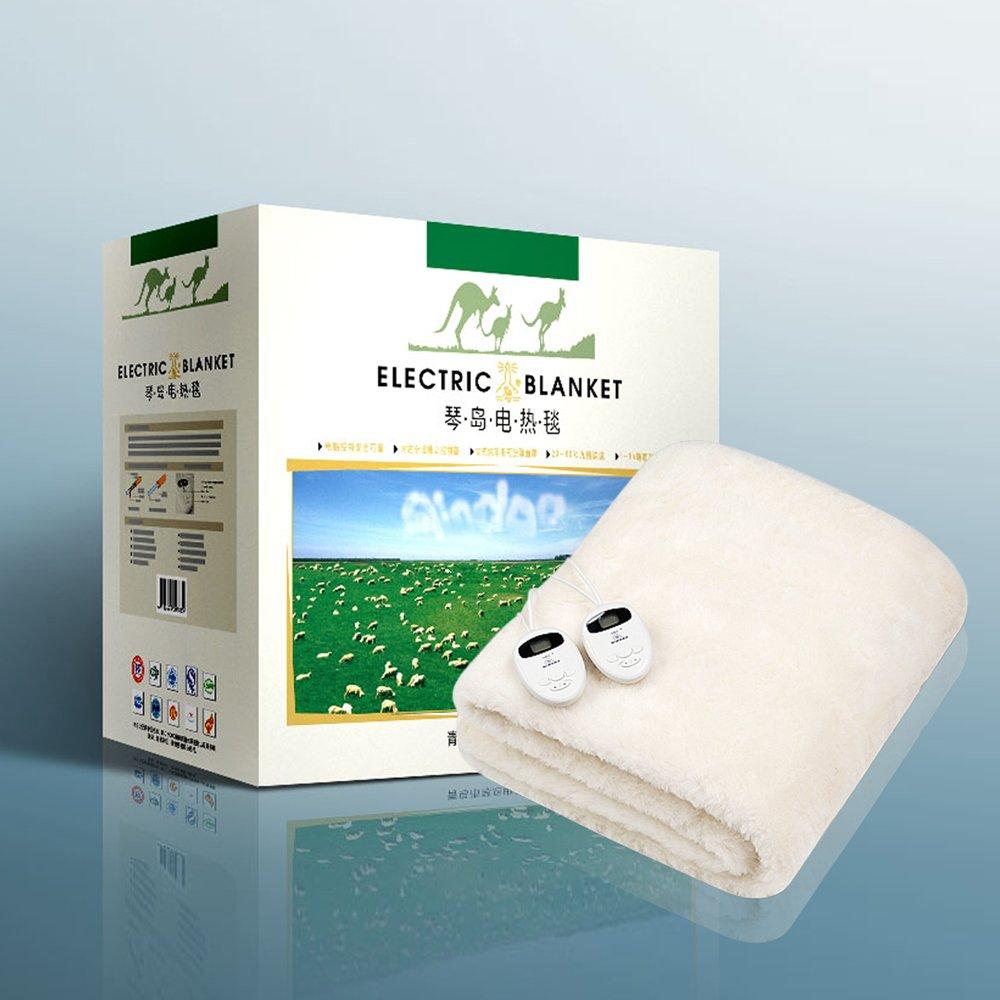 琴岛 电热毯 羊毛 801088 200*180*35