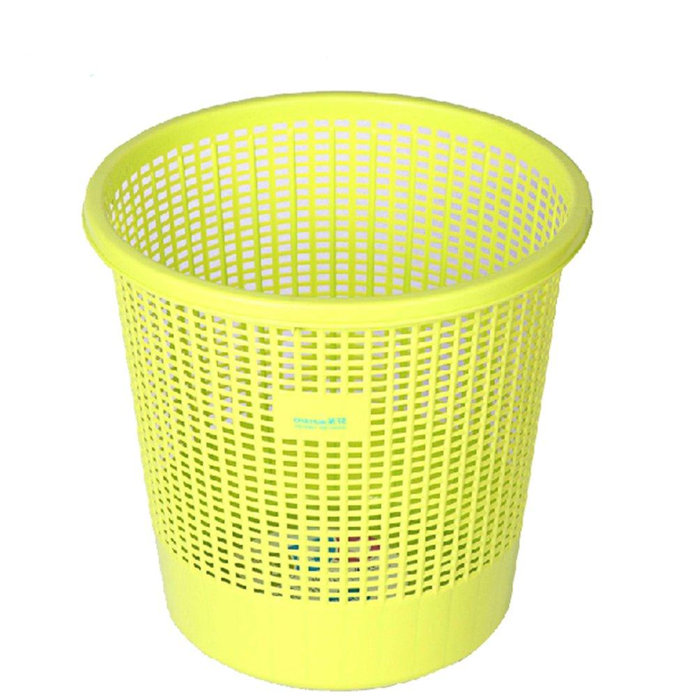纸篓垃圾桶 家用时尚创意无盖塑料收纳桶清洁桶
