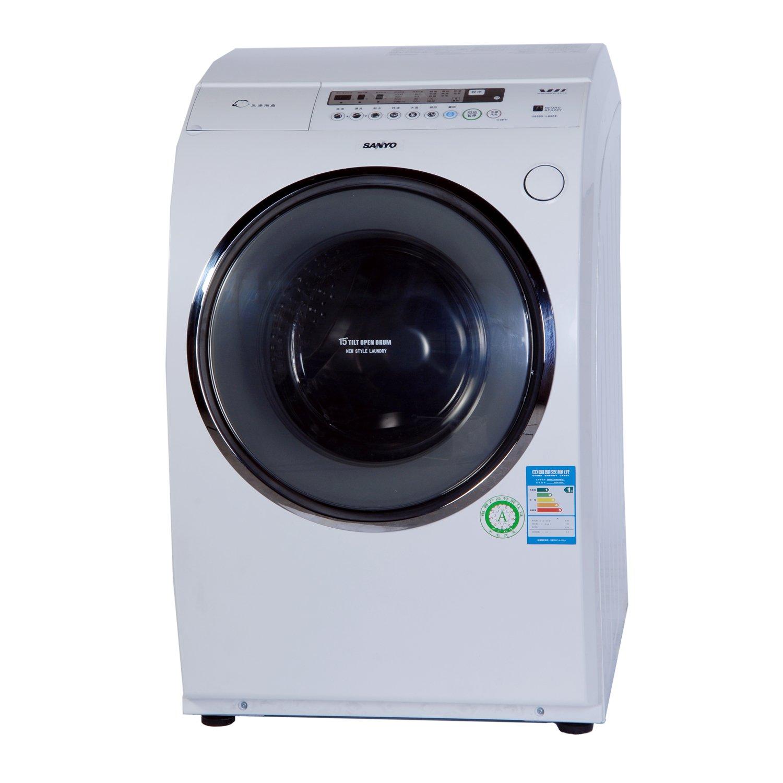 sanyo 三洋xqg55-l832w 5.5公斤全自动滚筒洗衣机