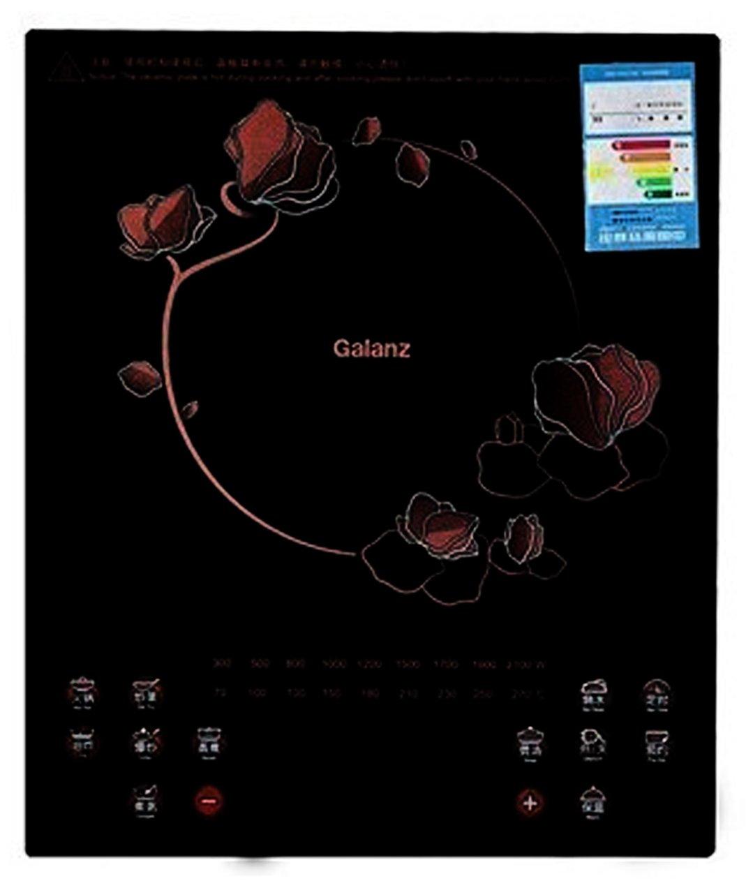 galanz格兰仕2100w整板触摸屏电磁炉ch2118k(赠汤锅 炒锅 整板触摸