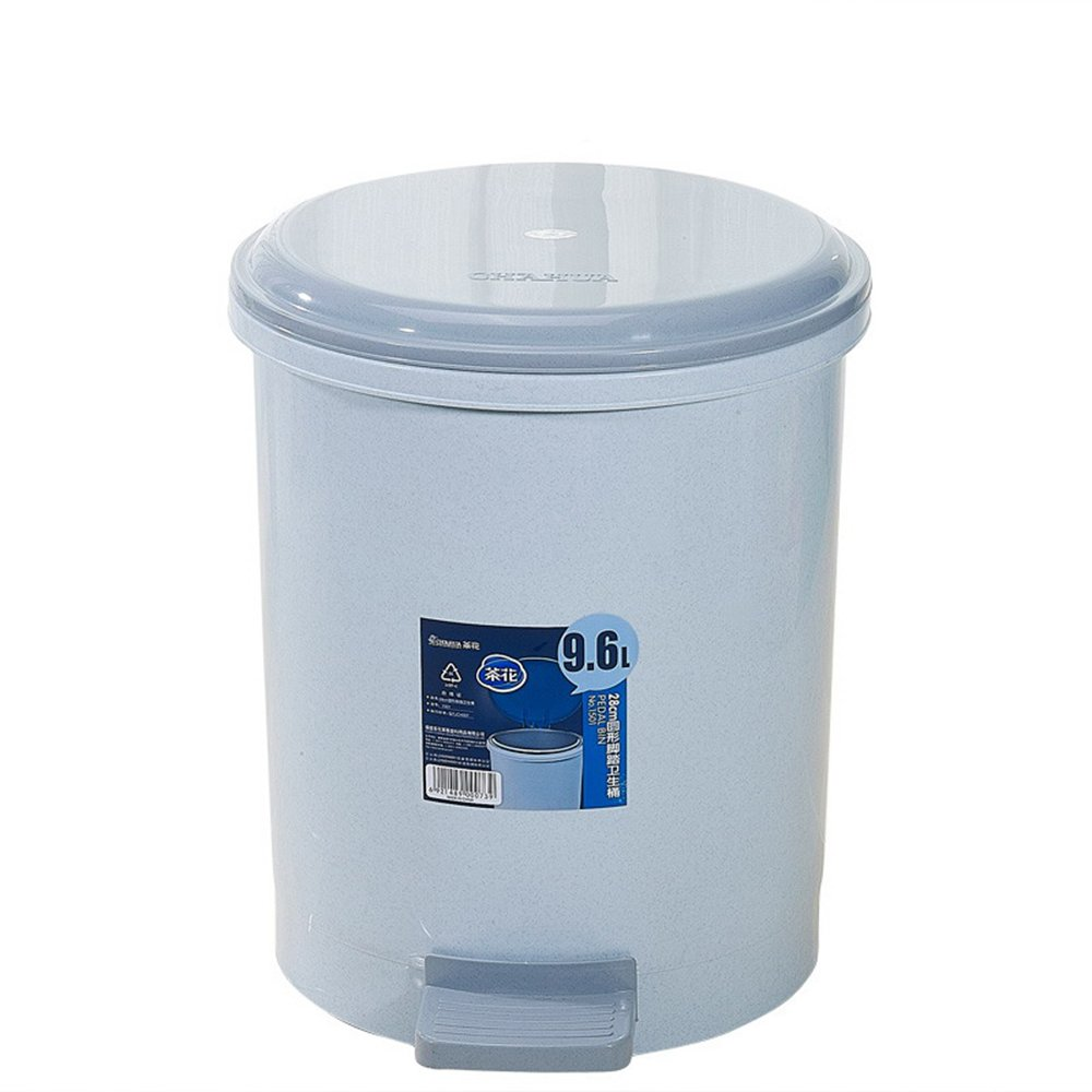 脚踏垃圾桶1501塑料桶欧式时尚创意家用客厅厨房收纳桶带盖