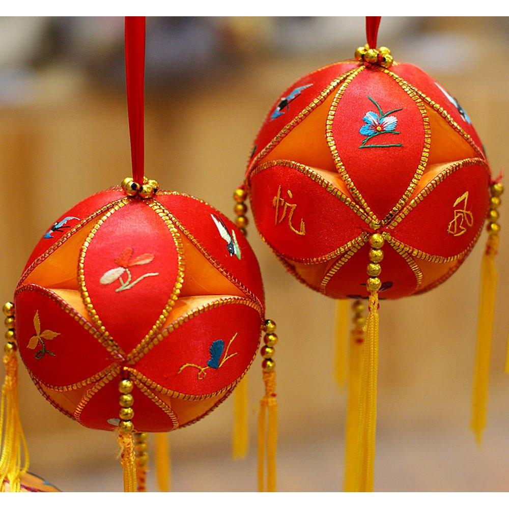 广西靖西绣球 12厘米 壮族特产手工艺品 寓意吉祥如意