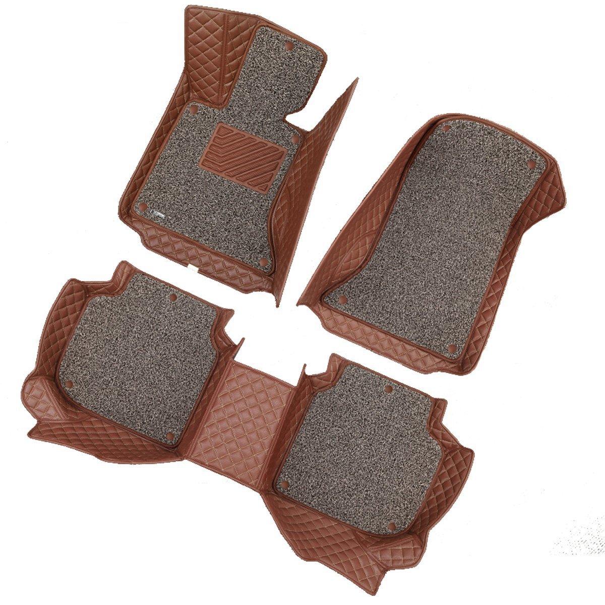 车邦士 标致207 汽车脚垫 大包围专车脚垫 专款专用脚垫 丝圈防滑脚垫