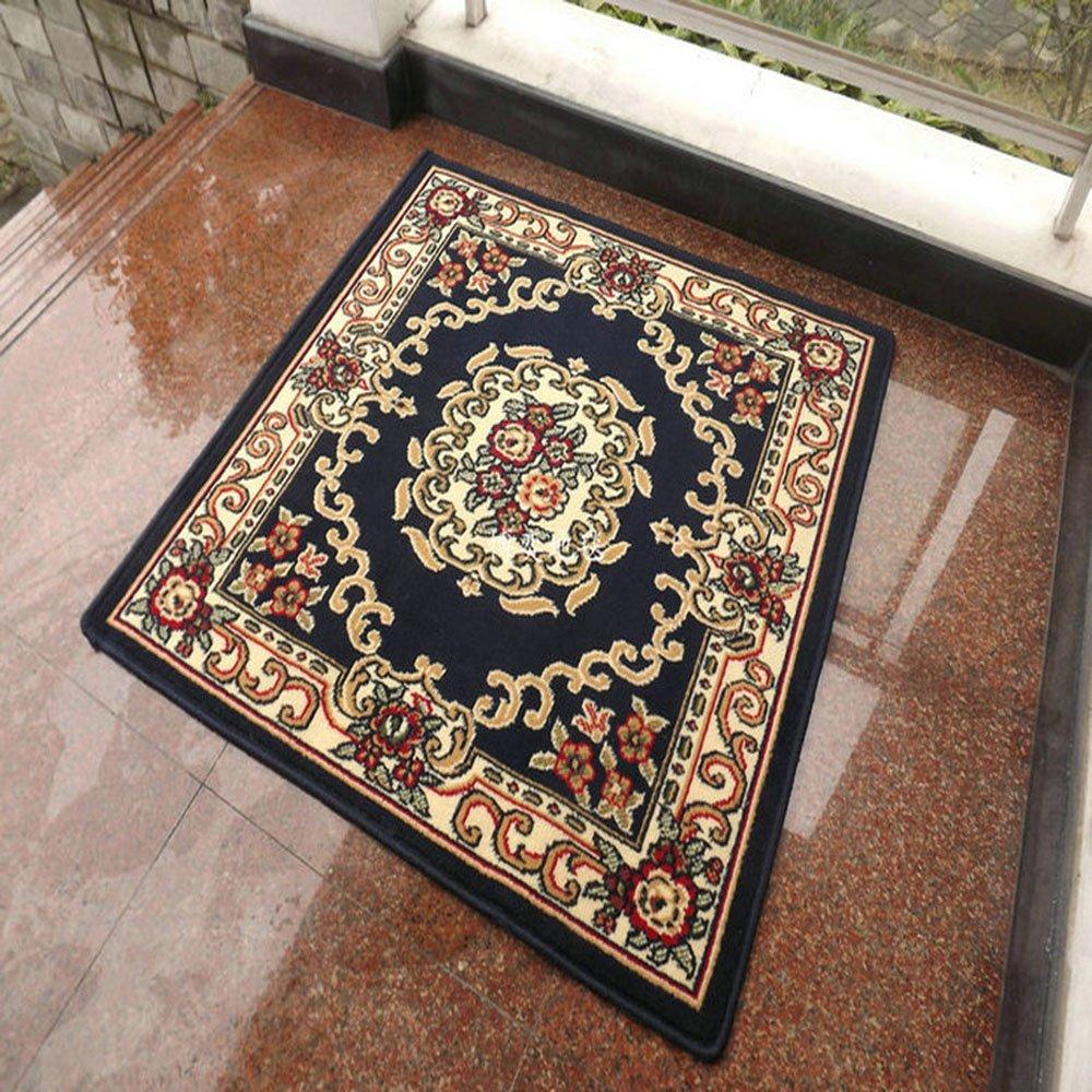 正方形钩针编织地毯