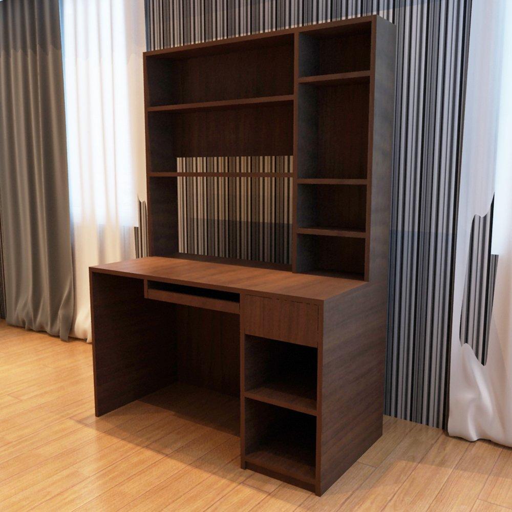 板式家具台式桌颜色多选e0环保板现生产定制生活家居