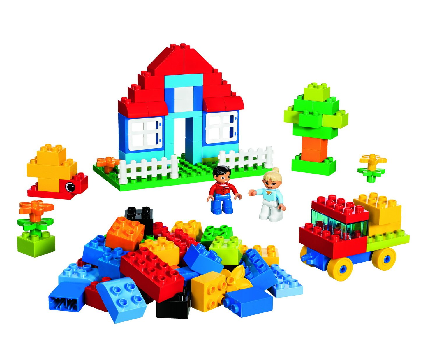 lego 乐高 得宝创意拼砌系列 豪华桶5507