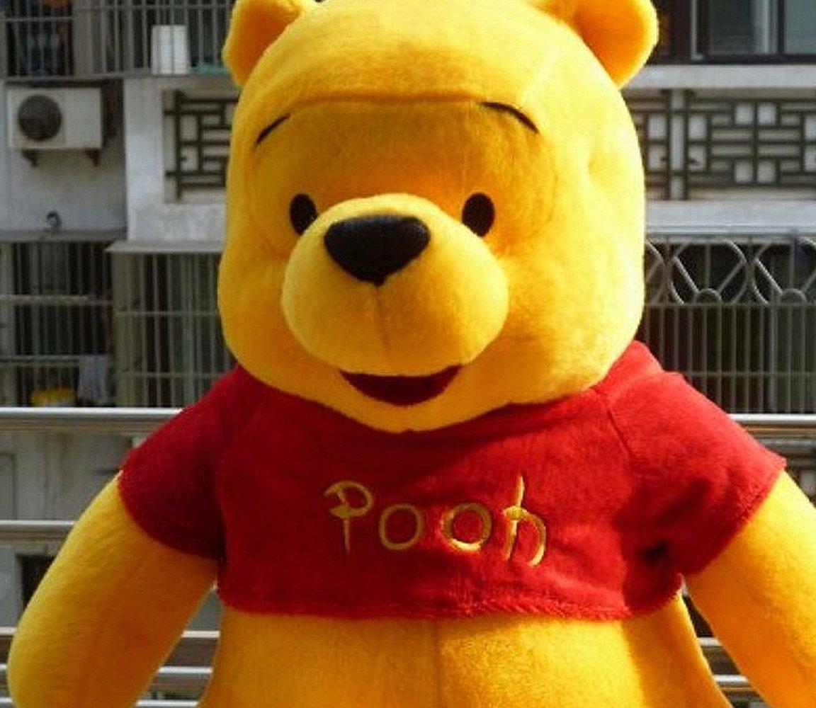 大眼猫 可爱小熊维尼熊公仔 抱枕大号儿童毛绒玩具布偶布娃娃熊生日