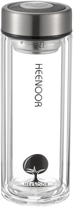 希诺xn-6702 礼盒双层玻璃保温杯(带茶隔)345ml
