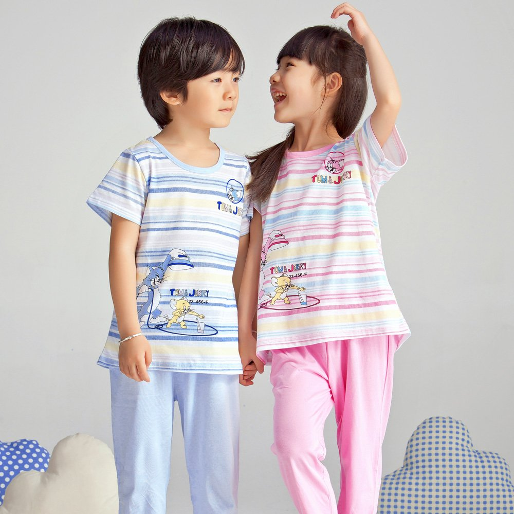 儿童睡衣男女童夏