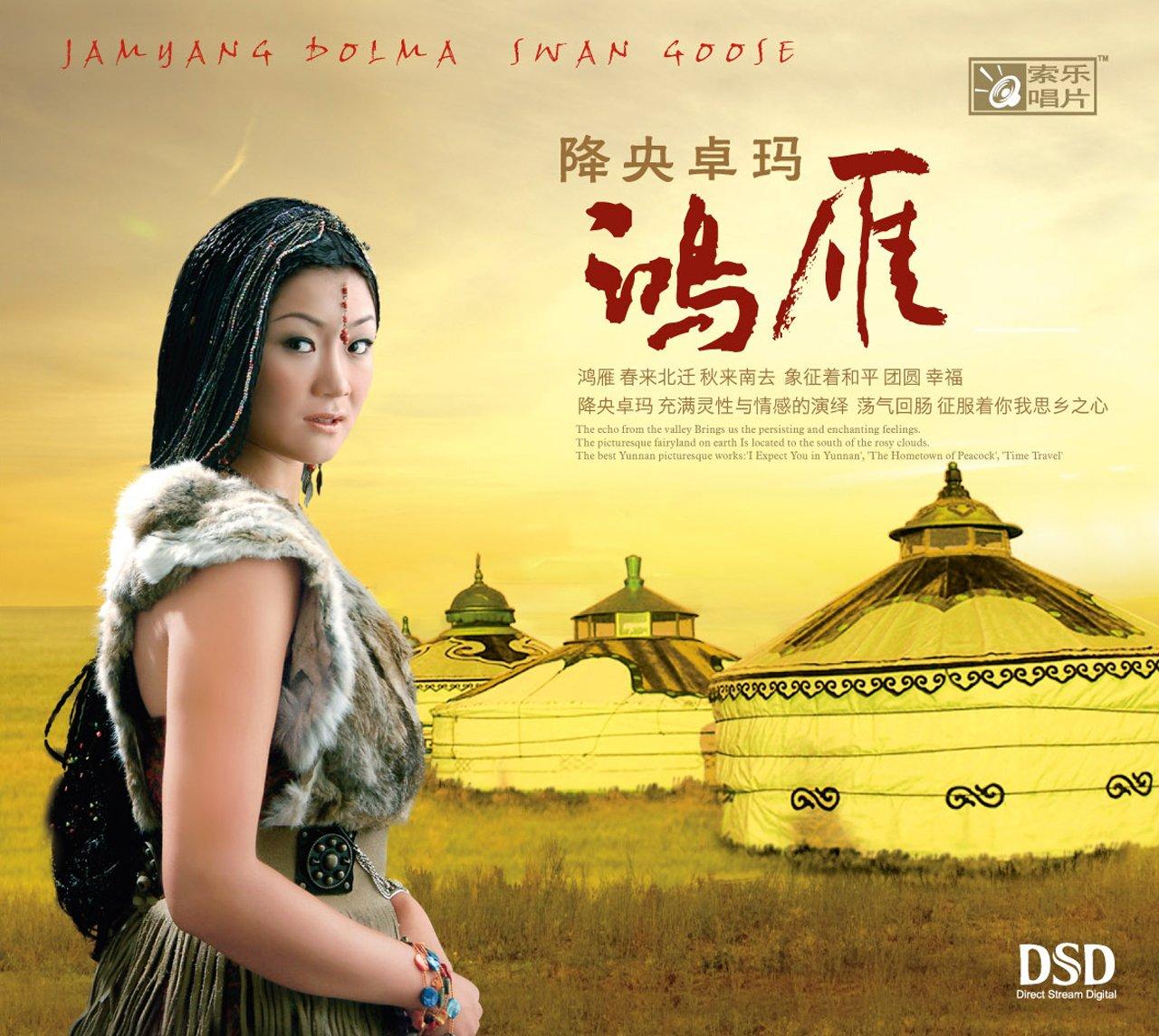 降央卓玛:鸿雁(cd) 降央卓玛 亚马逊中国