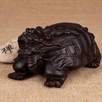 禅意居 印度小叶紫檀木雕手工艺品财神把玩件文玩手串