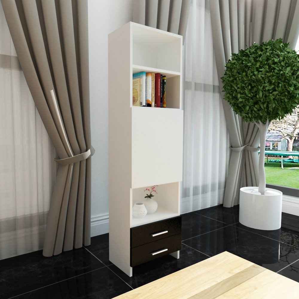 现代简约客厅酒柜办公司书架书房柜格子柜抽屉柜简易