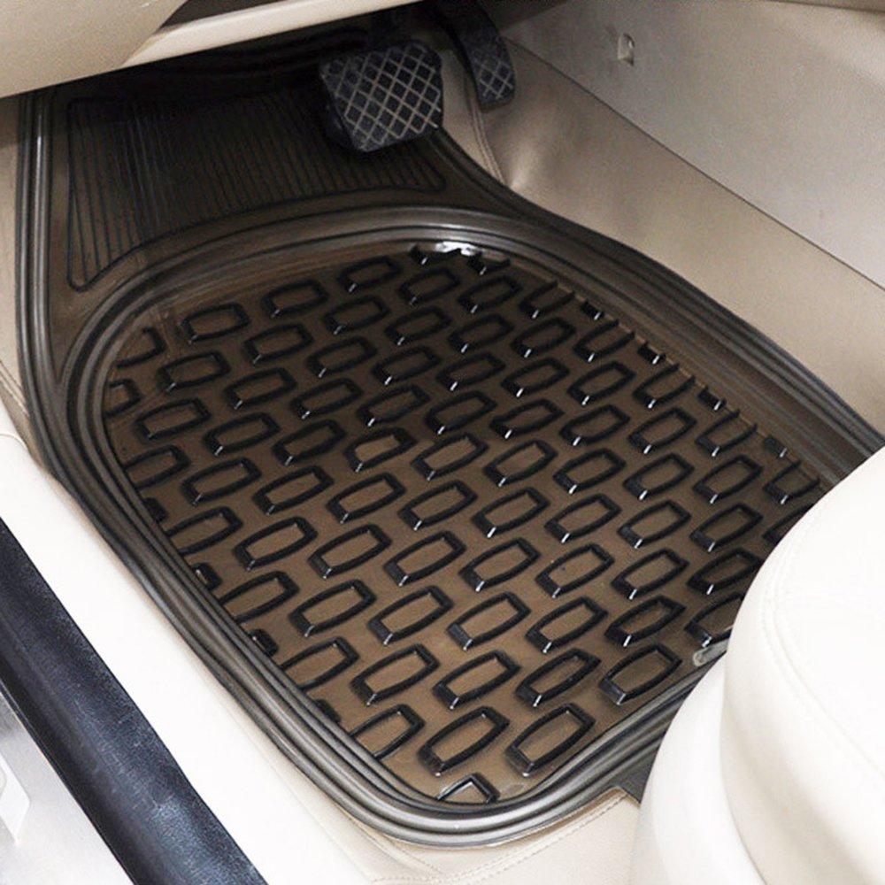 汽车pvc透明水晶脚垫名爵 铃木 吉利 环保无味防滑可裁剪车型通用