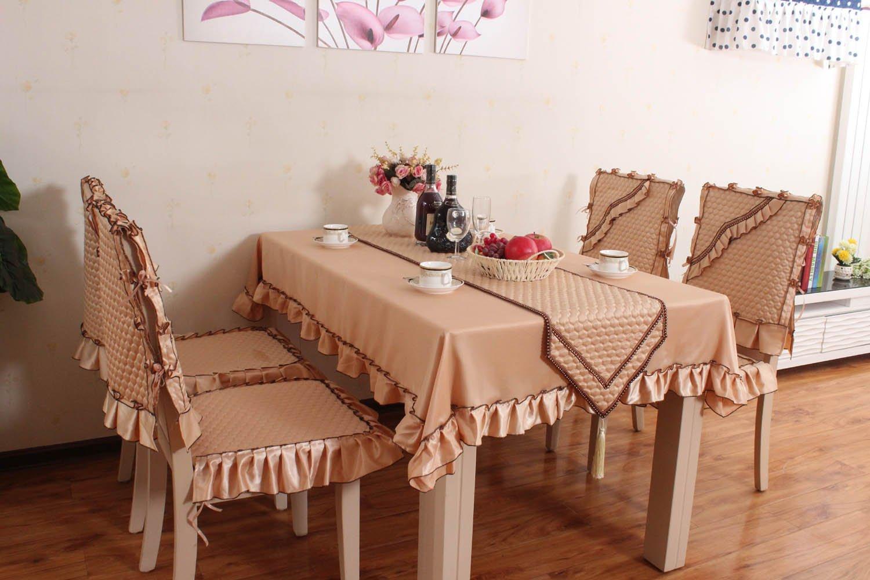 坐垫椅垫布艺餐桌椅垫椅子垫欧式餐椅垫餐椅套桌布