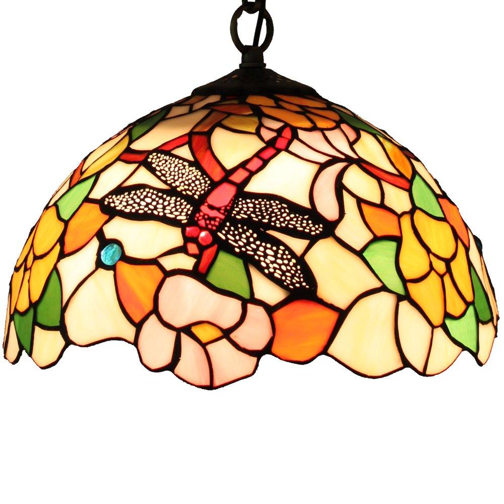 宜轩灯饰tiffanylamp欧式蒂凡尼卧室餐厅艺术30cm